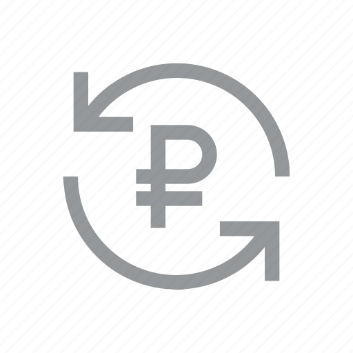 currency, finance, konnn, money, reload, ruble, sign icon