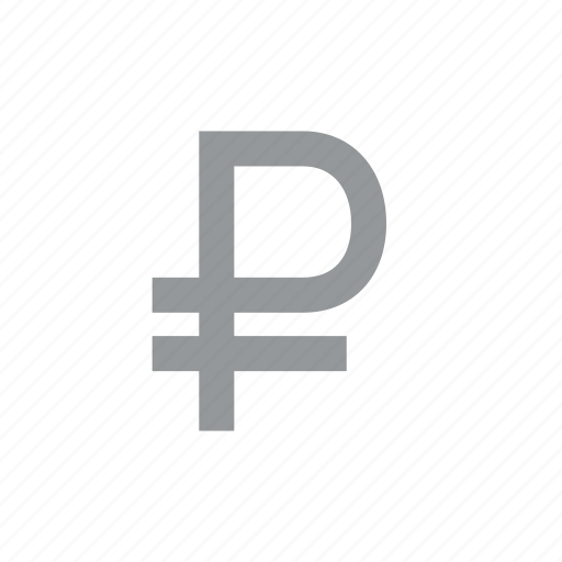 coin, currency, finance, konnn, money, ruble, sign icon
