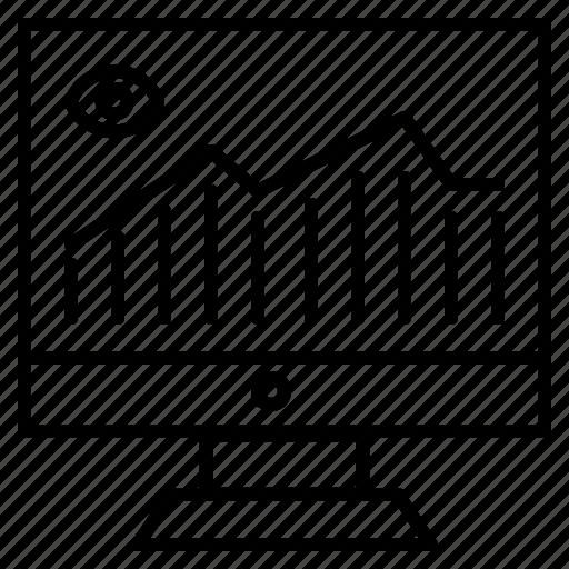 data, finance, info graphic, seo graph, statistics icon