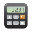 calculator, device, mobile, phone, smartphone icon