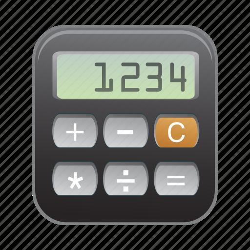 calculator, device, mobile, phone, smartphone icon