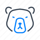 bear, market, stock, finance
