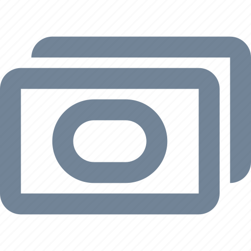 bank, finance, line, money icon