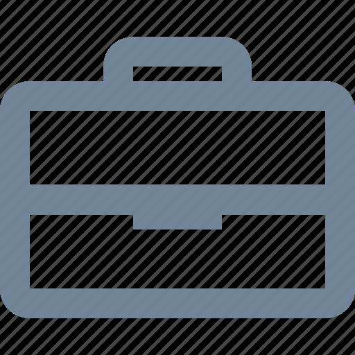 bag, bank, case, finance, kit, line, portfolio icon