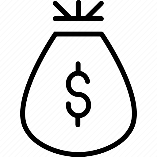 bag, cash, dollar, funds, gift, money, reward icon
