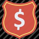 dollar, finance, insurance, money, safe icon