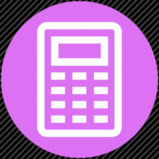 business, calculation, calculator, finance, mathematics, maths icon