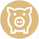 bank, box, cash, money, pig, piggy, saving
