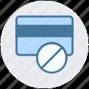 atm card, ban card, credit card, debit card, payment method, visa card icon