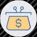 bag, business, case, cash bag, dollar, finance, investment icon