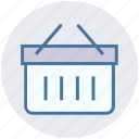 basket, business, ecommerce, finance, marketing, shopping icon