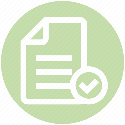 accept, document, file, finance, page, paper icon
