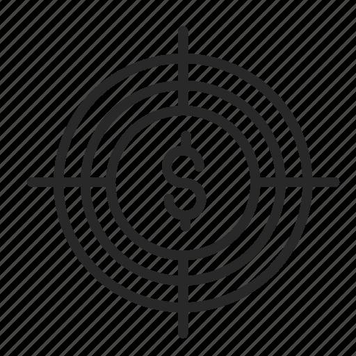 business, contribution, purpose, value icon