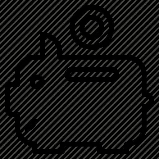 bank, coin, management, piggy, saving icon