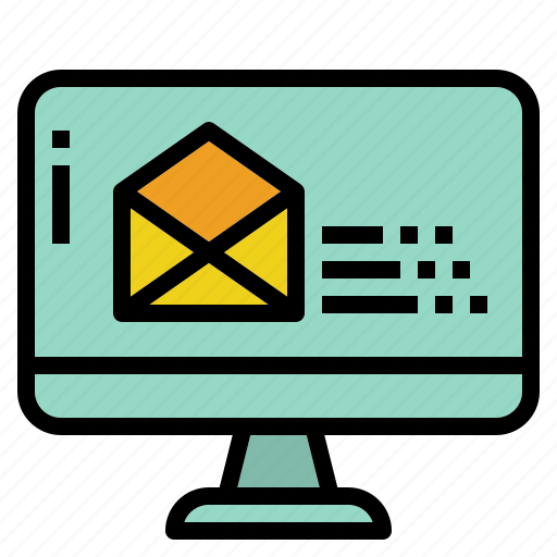 business, communication, email, reminder icon