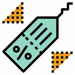 discount, percent, price, tag icon