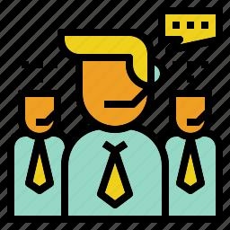 customer, staff, support, team, teamwork icon