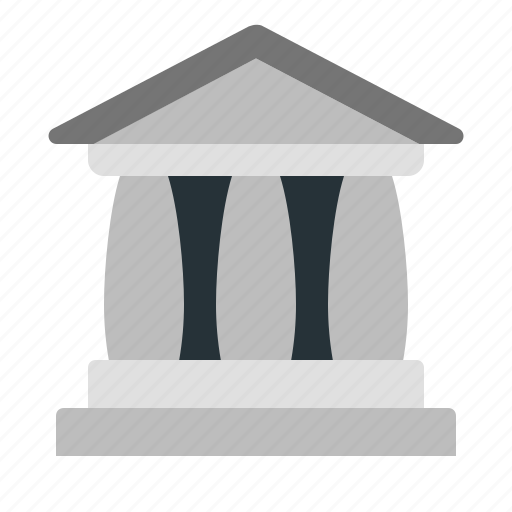 bank, building, court, finance, office icon