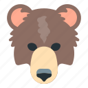 animal, bears, forex, trading icon