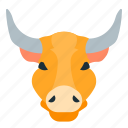 animal, bulls, forex, trading icon