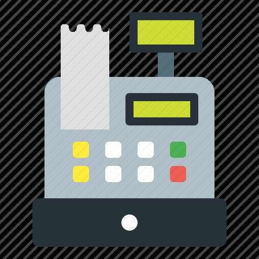 cash, cashdesk, finance, register icon