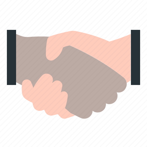 deal, hand, partnership, shake icon