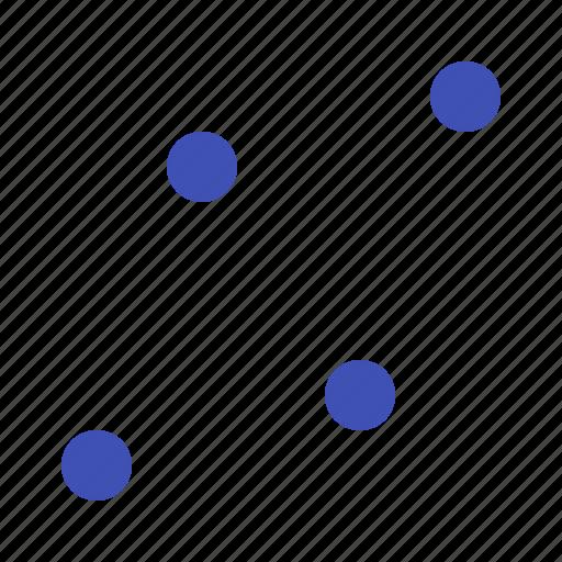 dot, forex, graph, trading icon