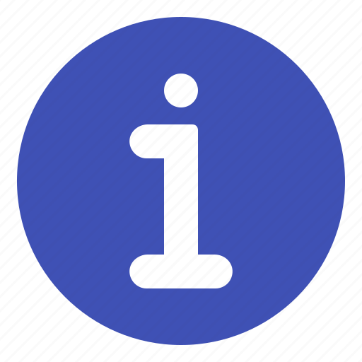 info, information, notification, sign icon