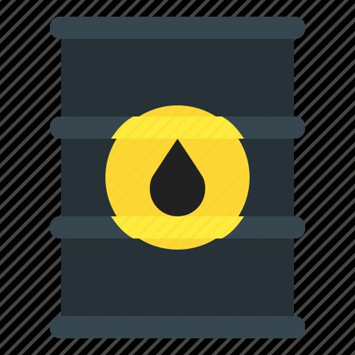 barrel, oil, petrol, quill icon