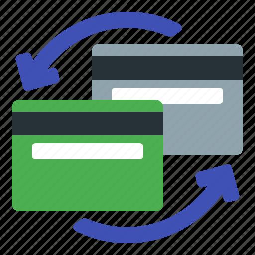 bank, card, credit, finance, remittance icon