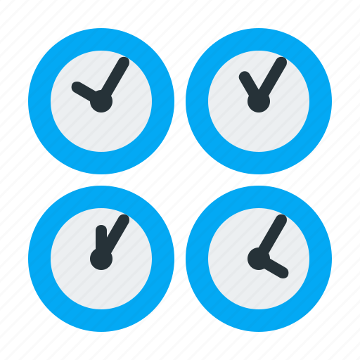 clock, time, watch, zone icon