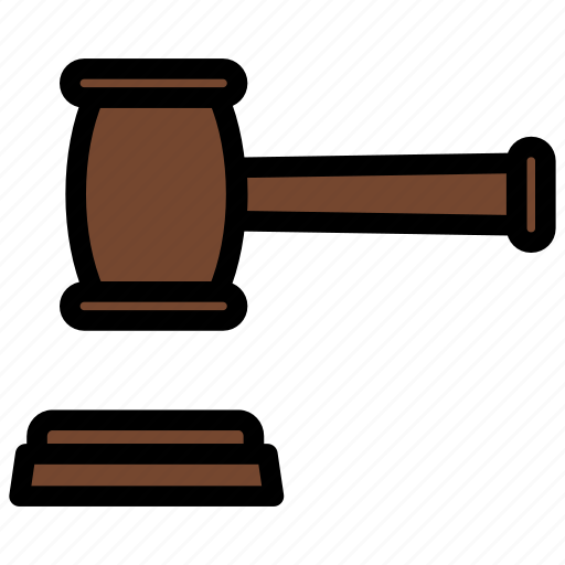 auction, decision, finance, hammer, law icon