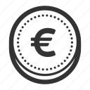 currency, euro, euro coin, europe, finance, money