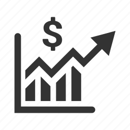 analytics, financial report, graph, growth, statistics icon