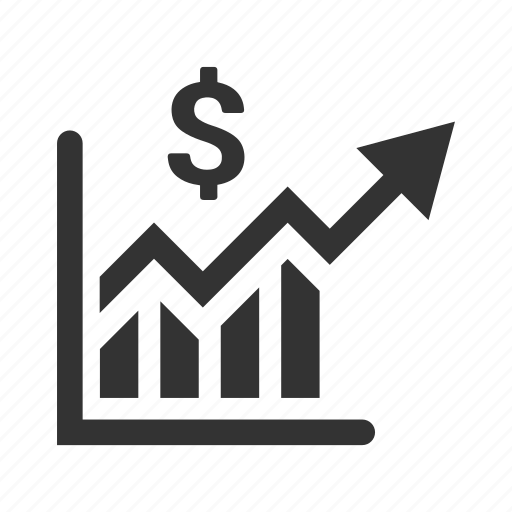 analytics, financial report, graph, growth, statistics icon