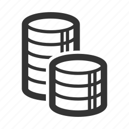 coin stack, coins, currency, finance, money, savings icon