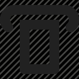 atm, bank, machine icon
