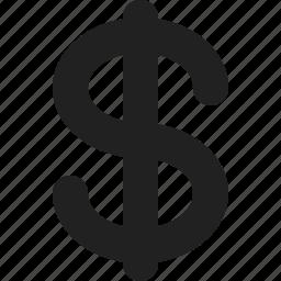 america, dollar, us icon
