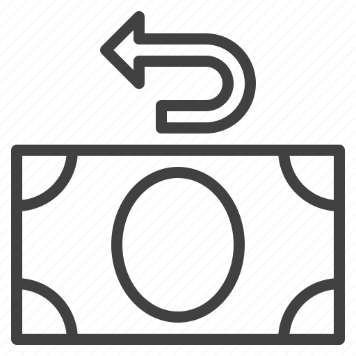 money, refund icon