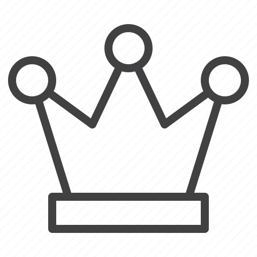 crown, king, vip icon