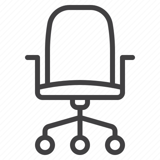 chair, office, place, work icon