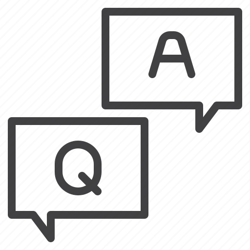 answer, faq, information, q&a, queation icon