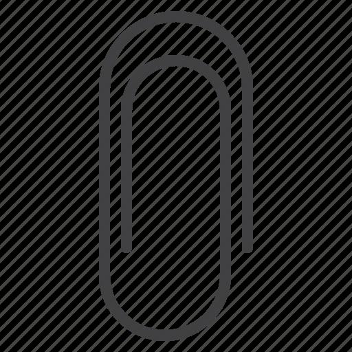 attach, attachment, link, paperclip icon