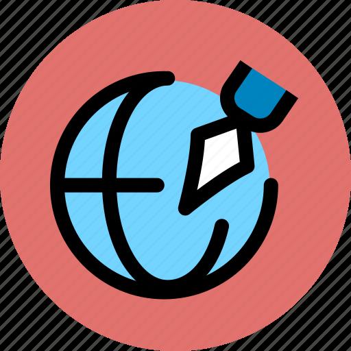 business, finance, signature icon