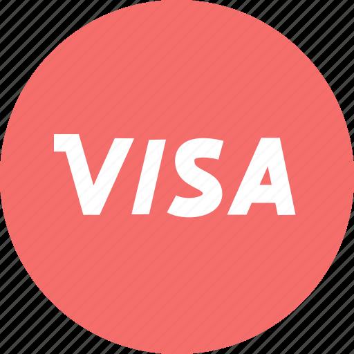 finance, payment, visa icon