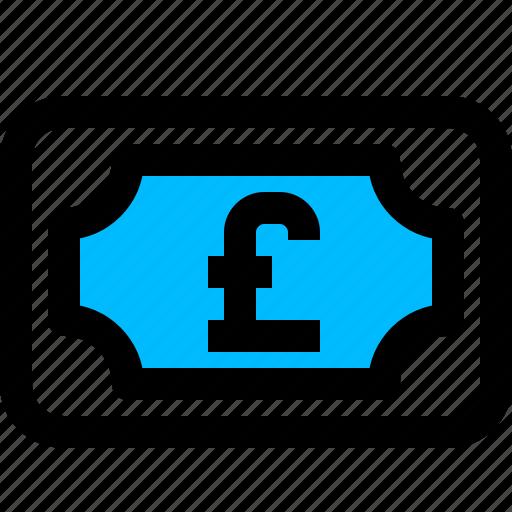 cash, money, pound icon