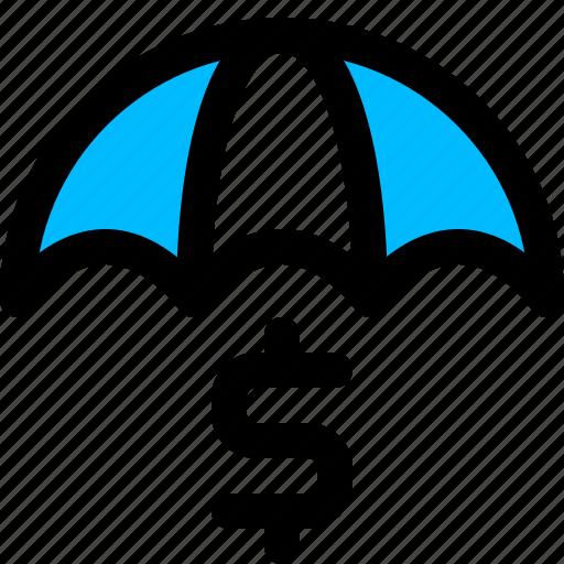 insurance, money, protection icon