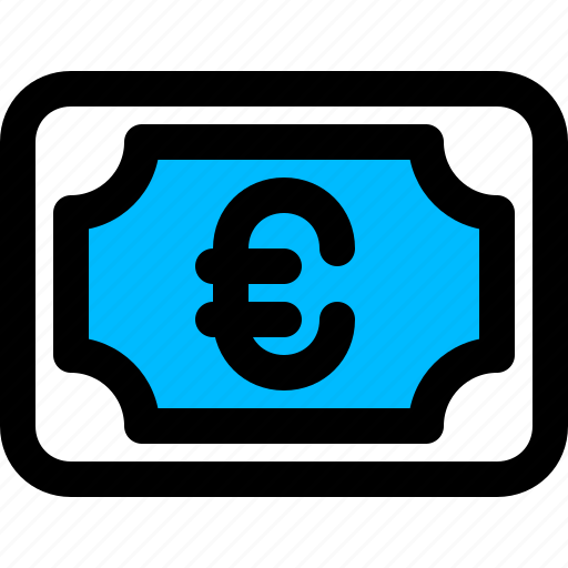 cash, euro, money icon