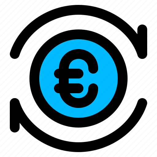 money, payment, processing, transfer icon