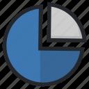 analytics, business, data, diagram, pie, presentation, statistics